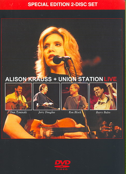 ALISON KRAUSS & UNION STATION LIVE BY KRAUSS,ALISON (DVD)