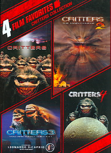 4 FILM FAVORITES:CRITTERS 1-4 BY MANN,TERRENCE (DVD)